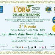 Premio Oro Mediterraneo 2020