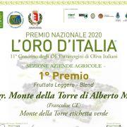 Premio ORO ITALIA 2020